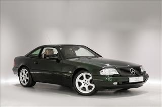 View the 2001 MERCEDES-BENZ SL320 Designo Alanite 2dr Auto: Limited Edition Online at Peter Vardy