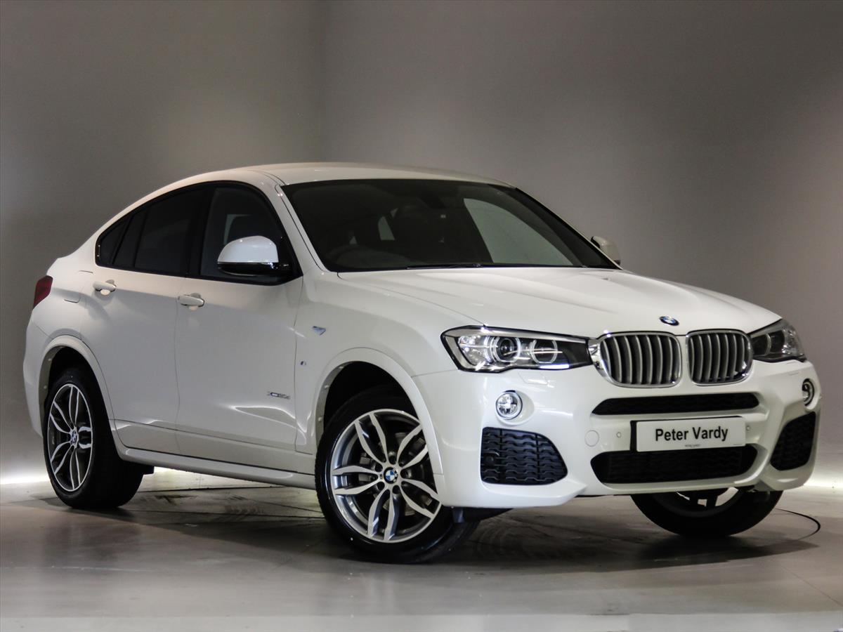 2017 BMW X4 DIESEL ESTATE XDrive30d M Sport 5dr Step Auto