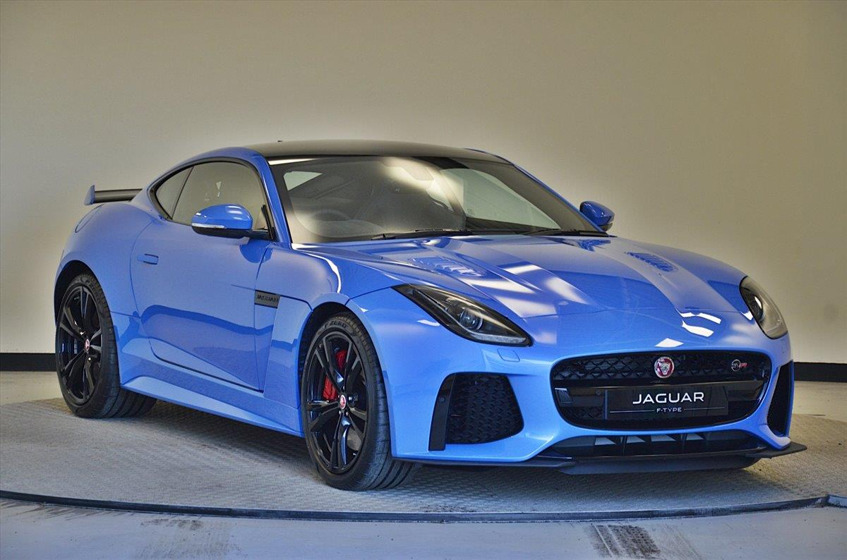 Jaguar Svr >> 2017 Jaguar F Type Coupe 5 0 Supercharged V8 Svr 2dr Auto Awd