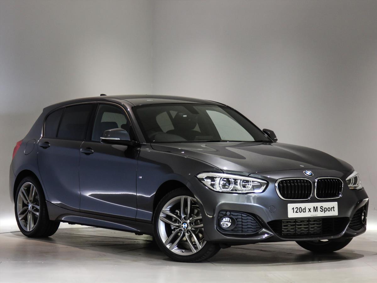 2017 BMW 1 SERIES DIESEL HATCHBACK: 120d xDrive M Sport 5dr [Nav ...
