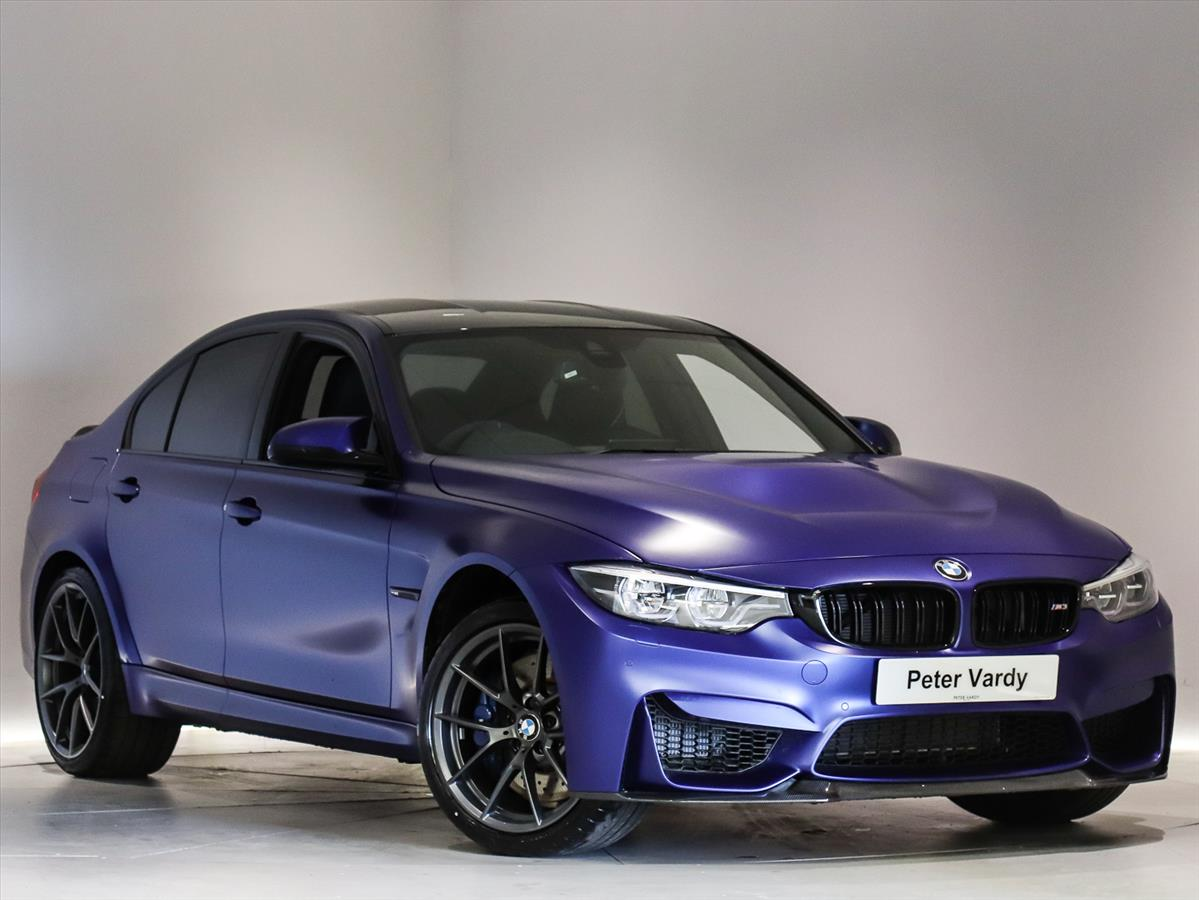 2018 bmw m3 saloon special editions: m3 cs 4dr dct | peter vardy