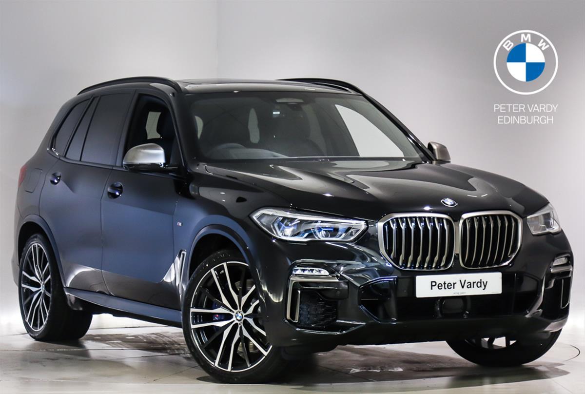 2020 bmw x5 diesel estate: xdrive m50d 5dr auto [7 seat