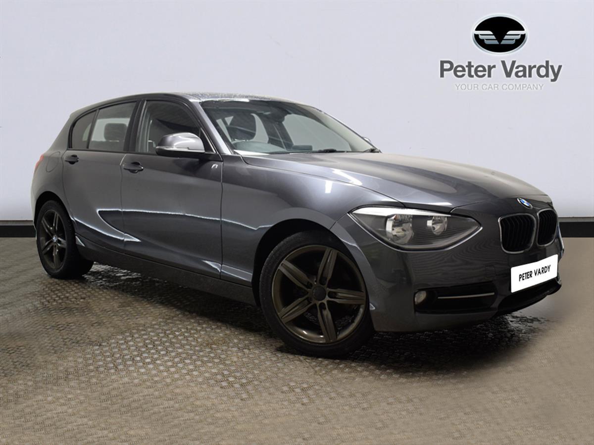 2013 BMW 1 SERIES DIESEL HATCHBACK: 114d Sport 5dr   Peter Vardy