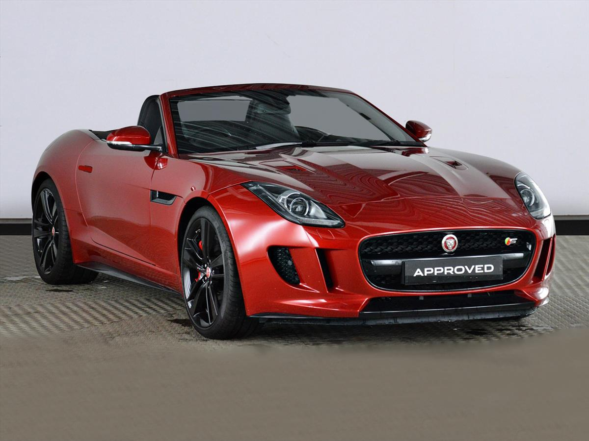 Jaguar F Type Convertible >> 2017 Jaguar F Type Convertible 3 0 Supercharged V6 S 2dr Auto