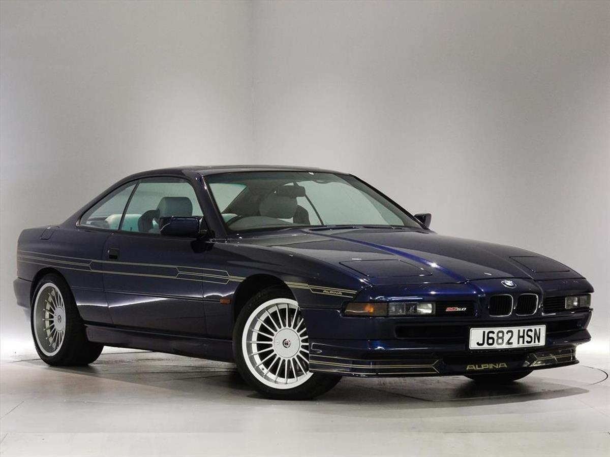 BMW Alpina B I Coupe Peter Vardy Heritage - Bmw 850 alpina for sale