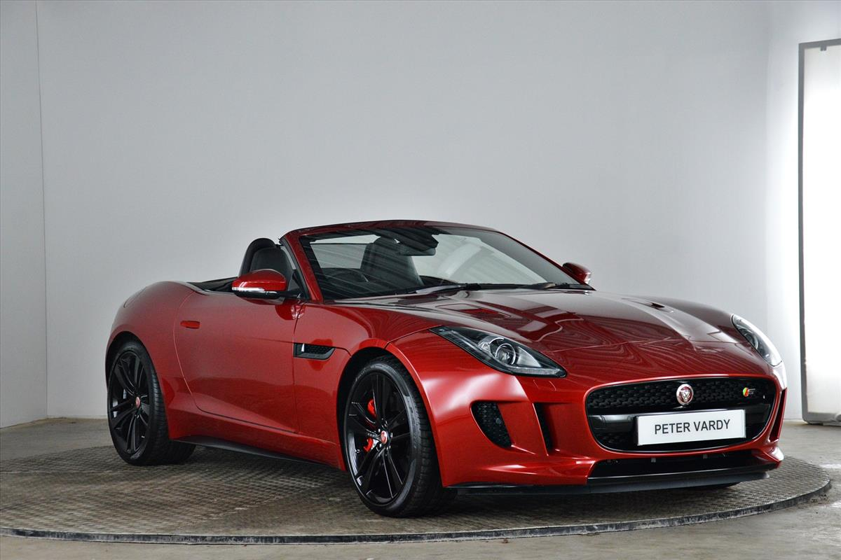 7c49db7eaf4 2018 JAGUAR F-TYPE CONVERTIBLE  3.0 Supercharged V6 S 2dr Auto AWD ...