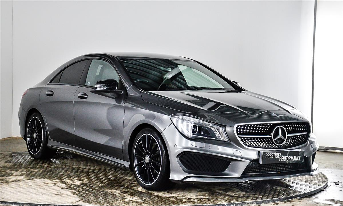 2014 mercedes-benz cla class diesel coupe: cla 220 cdi amg sport 4dr