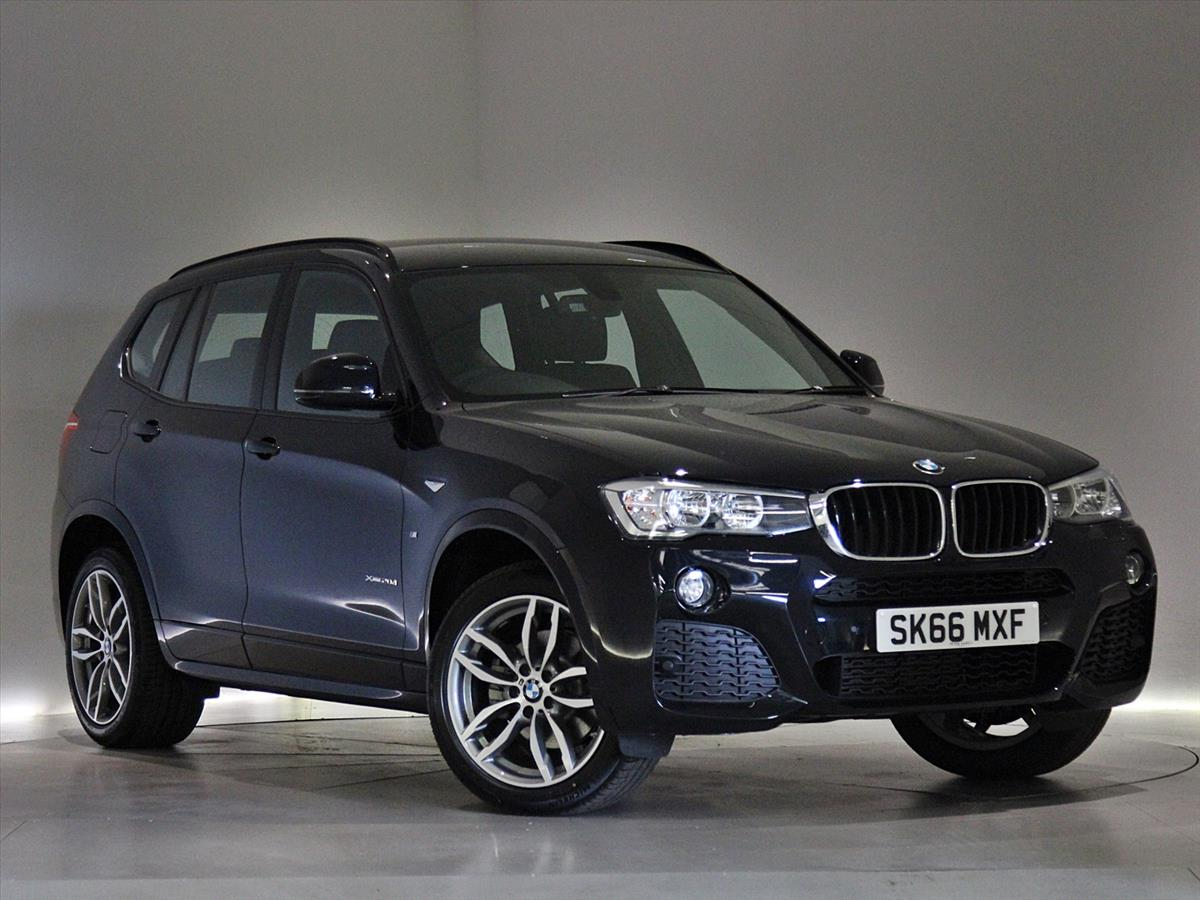 2016 Bmw X3 Diesel Estate Xdrive20d M Sport 5dr Step Auto Peter Vardy