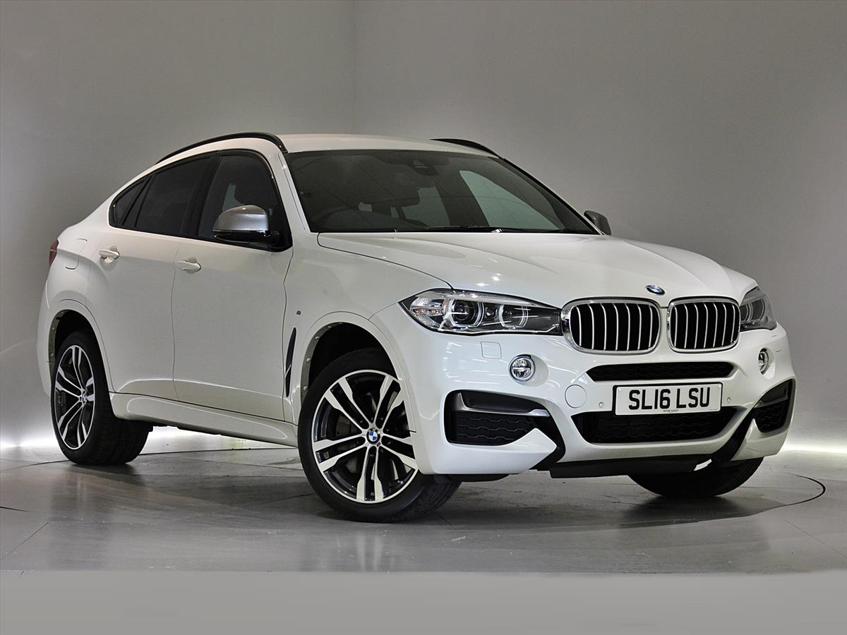 2016 BMW X6 DIESEL ESTATE XDrive M50d 5dr Auto