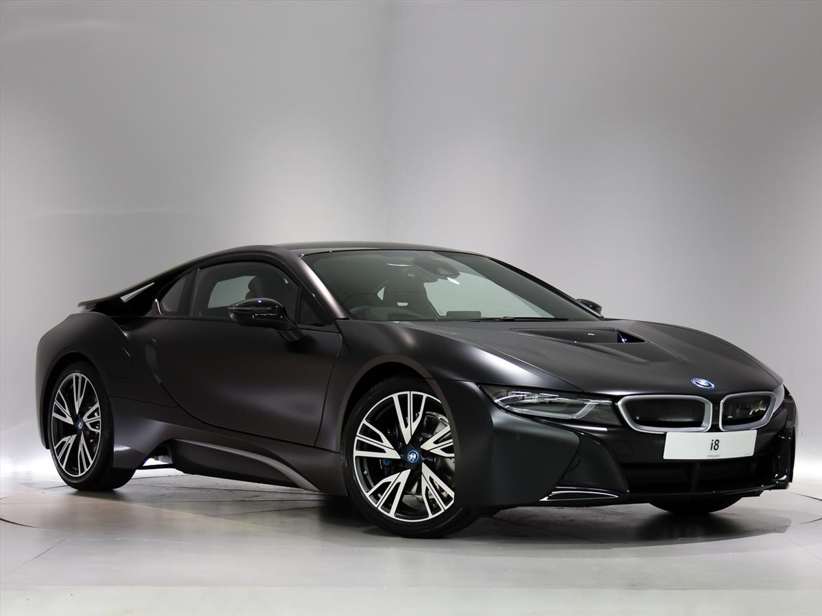 2017 bmw i8 coupe special edition protonic frozen black edition 2dr